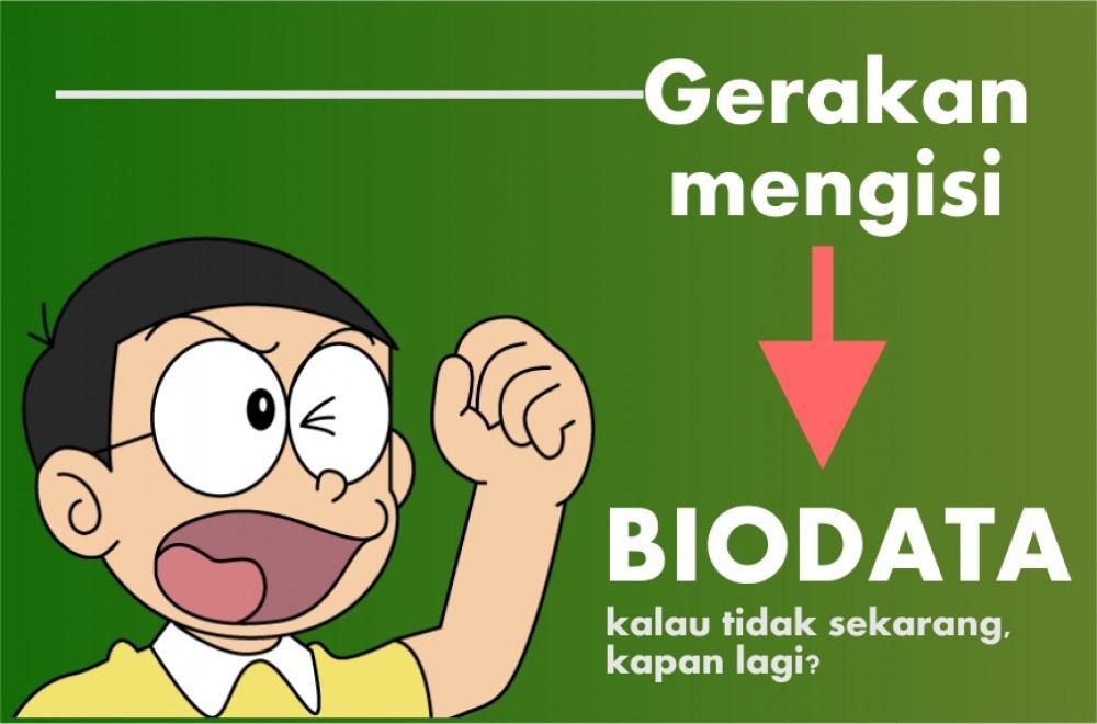 Cara Update Data di Form Biodata